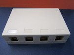 4 PORT SURFACE BOX